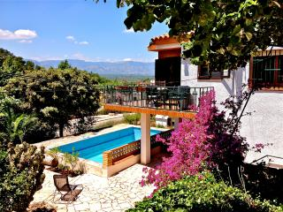 Holiday Farmhouse in a finca with pool and views - Province of Tarragona vacation rentals