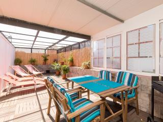 Fantastic, central, private sun / dining terrace - Barcelona vacation rentals