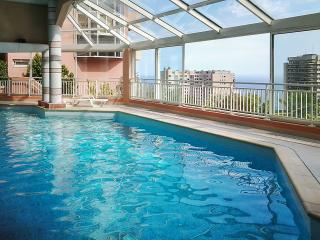 Stylish sea-view studio on the French Riviera with balcony, WiFi, pool & sauna – near Monaco, Nice - Beausoleil vacation rentals