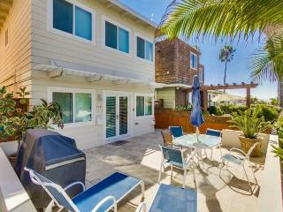 Don`s Law Street Beach Loft: Large private balcony with BBQ - San Diego vacation rentals