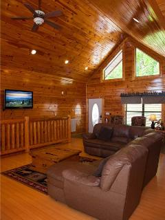 Charming Cabin with Deck and Internet Access - Gatlinburg vacation rentals