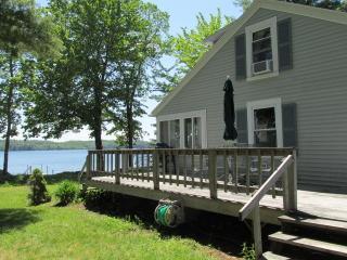 Belgrade Lakes Salmon Lakefront Cottage - Belgrade vacation rentals