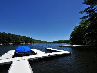 Beautiful Lakefront Home w/ Private Indoor Pool, Hot Tub & Dock Slip! - Oakland vacation rentals