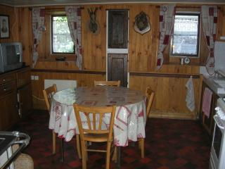 Nice House with Balcony and Central Heating - Bozel vacation rentals