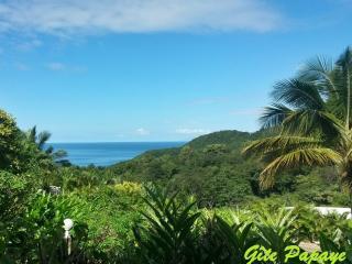 Gîte PAPAYE seaview in tropical garden - Deshaies vacation rentals