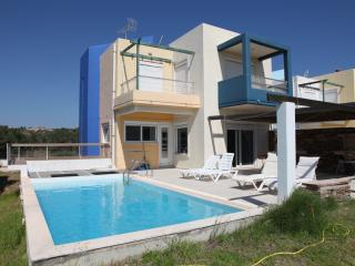VILLA-3 OVERLOOKING SEA AND GOLF - Afandou vacation rentals
