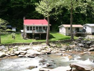 The Applehouse on a Stocked Trout River Western NC - Chimney Rock vacation rentals