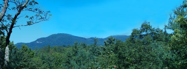 View from the deck - Qualla Mountain Retreat - Lake Toxaway - rentals
