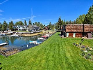 3BR/3BA Tahoe Keys Condo, Private Boat Dock, Waterway Views, Sleeps 10 - South Lake Tahoe vacation rentals