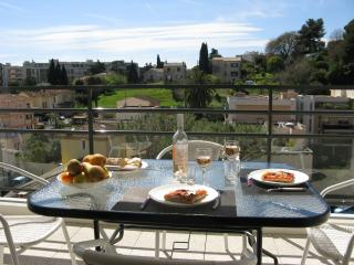 Brand new  sunny appartment next to Nice + airport - Cagnes-sur-Mer vacation rentals