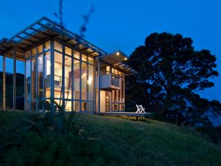 Mod glass house plus 2 retro caravans by the sea. - Coromandel vacation rentals