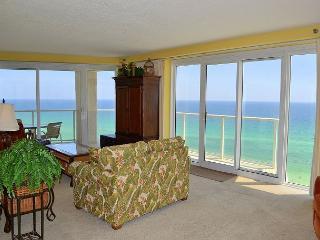 Gorgeous 180* views of the Gulf & beach with unique, wrap-around balcony! - Miramar Beach vacation rentals