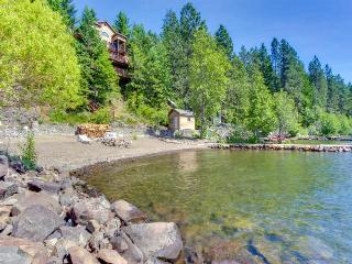 Dog-friendly, stunning bay front home with a private dock! - Harrison vacation rentals
