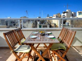 004 Spectacular Views Sliema 1-bedroom Penthouse - Sliema vacation rentals