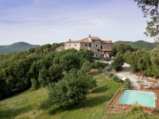 Tuscan castle boasts 6 bedrooms, private pool and - Pomarance vacation rentals