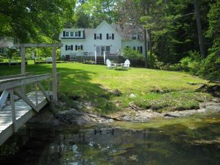 SOUTHPORT Waterfront Tidewater Farm with dock - Boothbay Harbor vacation rentals