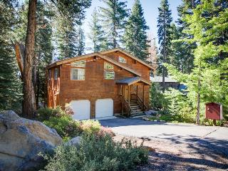 Sit out on the deck with your dog or soak in the private hot tub at this home! - Tahoe Vista vacation rentals