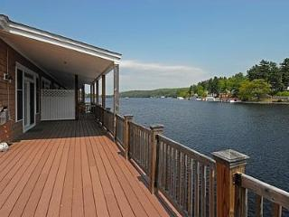 Waterfront Condo On Winnipesaukee with a 30ft dock - Alton Bay vacation rentals