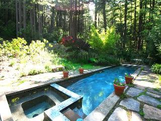"""Secret Garden"" Private Sanctuary. Lap Pool, Fire Place, Quiet! UnPlug!! - Monte Rio vacation rentals"
