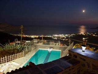 Villa Aretousa,private pool,view to Libyan Sea - Myrthios vacation rentals