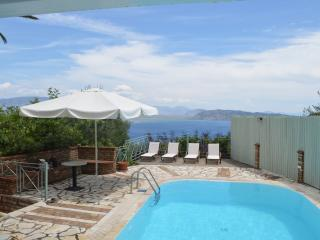 Villa with Sea View and Private Pool - Corfu vacation rentals