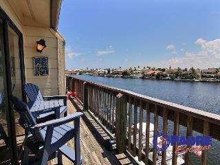 Enjoy this Cozy Waterfront Condo that's on the Main Canal here on the Island. - Corpus Christi vacation rentals