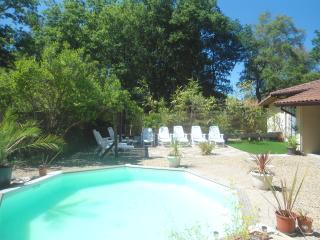maison villa 2 piscines chauffé , grand jardin arb - Messanges vacation rentals