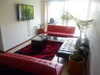 MODERN 3 bed  A/C apartment 5 BLOCKS PARQUE LLERAS - Medellin vacation rentals