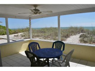 ON the BEACH! Steps to swimming, spectacular sunsets,private beach, shark teeth! - Manasota Key vacation rentals