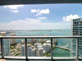 MAGNIFICENT BRICKELL HIGHEST WATER VIEW 3BD/2B - Coconut Grove vacation rentals