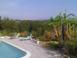 studio acrylique piscine, plage à pieds marineland - Antibes vacation rentals