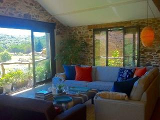 Large converted Wine Barn with stunning views - Faugeres vacation rentals