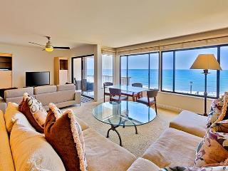 Oceanfront condo with whitewater views, pool, spa, + tennis - Solana Beach vacation rentals