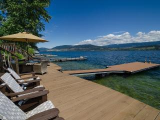 Five Star LakeFront Cottage on Lake Okanagan - Kelowna vacation rentals