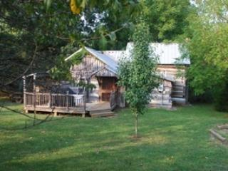 3 small cabins equal one sweet cabin - Homestead Cabin, original homestead for the farm - Lexington - rentals