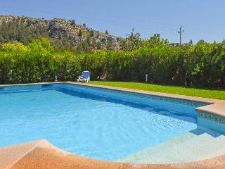House with pool, garden and mountain views - Pollenca vacation rentals