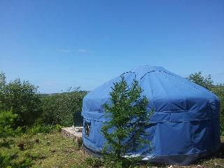 Lovely 1 bedroom Yurt in Moylgrove with Deck - Moylgrove vacation rentals