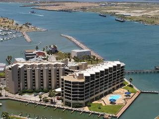 2 bedroom 2 bath condo in the heart of Port Aransas! Ship Channel view! - Port Aransas vacation rentals