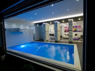 luxury apartment with indoor pool first on the sea - Okrug Gornji vacation rentals