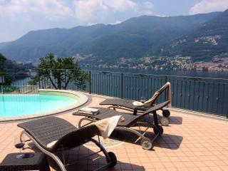 Villa with pool and amazing Lake Como view - Faggeto Lario vacation rentals