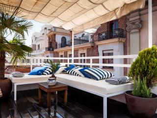 Chic Penthouse GranVia/Chueca with terrace 3 BD - Madrid vacation rentals