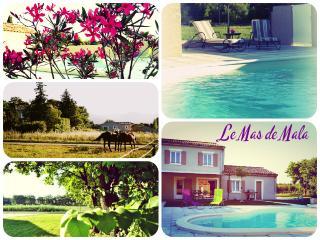 LE MAS DE MALA, maison de vacances avec 4 chambres - Malataverne vacation rentals