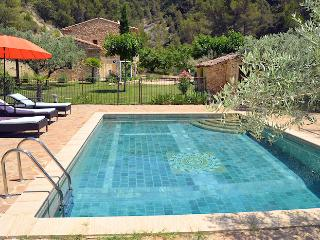 Le Barroux Vaucluse, Charming country house 8p, high standing, private pool - Le Barroux vacation rentals