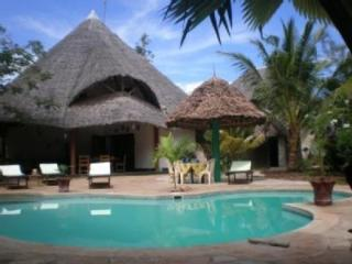 Bright 4 bedroom Diani Cottage with Boat Available - Diani vacation rentals