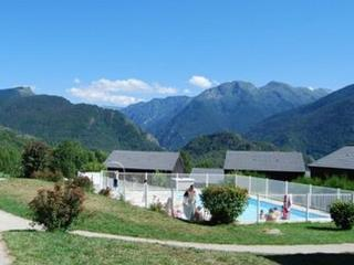 Nice Ski chalet with Shared Outdoor Pool and Television - Ignaux vacation rentals