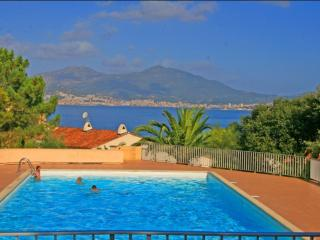Corsican flat with pool, near beach - Porticcio vacation rentals