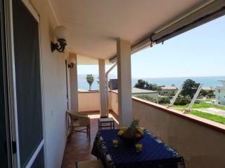 Terrace overlooking the sea Fertilia - Fertilia vacation rentals