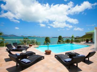 SPERANZA... Gorgeous lagoon waterfront villa, full AC, stunning views! - Baie Rouge vacation rentals