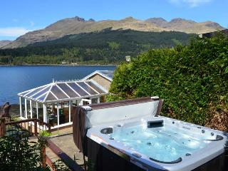 Waterside Bungalow, stunning location with Hot Tub - Arrochar vacation rentals