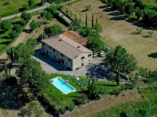 Typical Tuscan villa with wonderful views - Subbiano vacation rentals